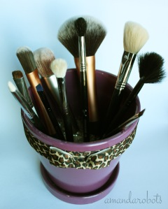 Brushes in Pot