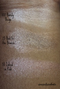 Maybelline Colour Tattoos swatches