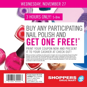 Shoppers Drug Mart Coupon