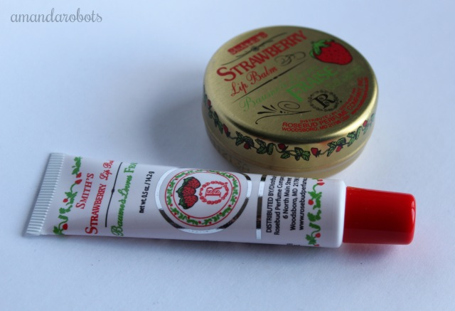 Smith's Strawberry Lip Balm