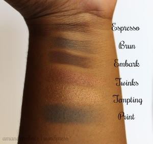 Swatches for Espresso to Print