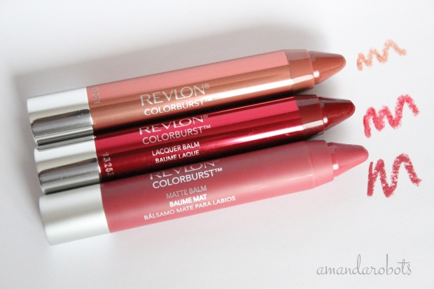 Revlon Matte and Lacquer Balms