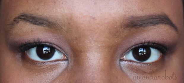 Benefit Gimme Brow closeup comparison