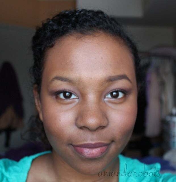 Benefit Gimme Brow full face comparison