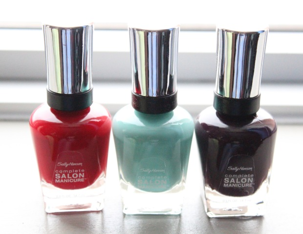 Sally Hansen Complete Salon Manicure All Three Polishes