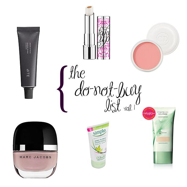 The Do-Not-Buy List