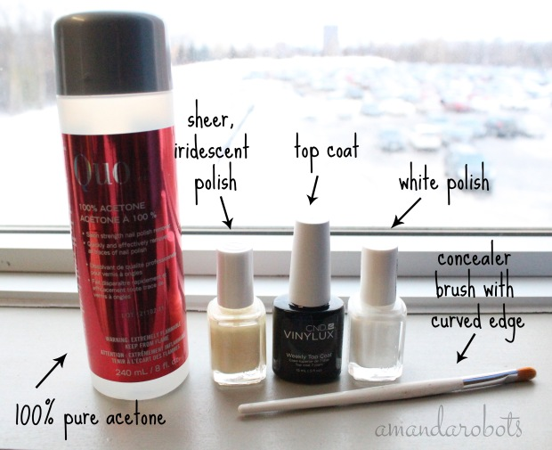 What You Need for DIY French Manicure