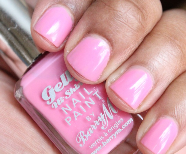 Barry M Gelly Nail Paint in Dragonfruit