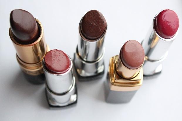 Lipsticks Cap Off