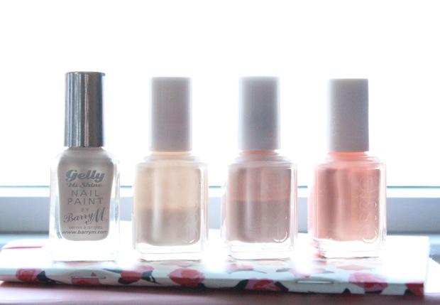 Nude Nail Polish Bottles