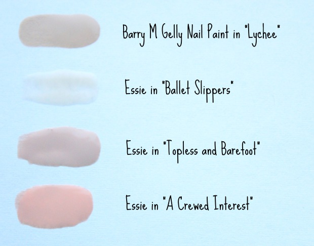 Nude Nails Swatches