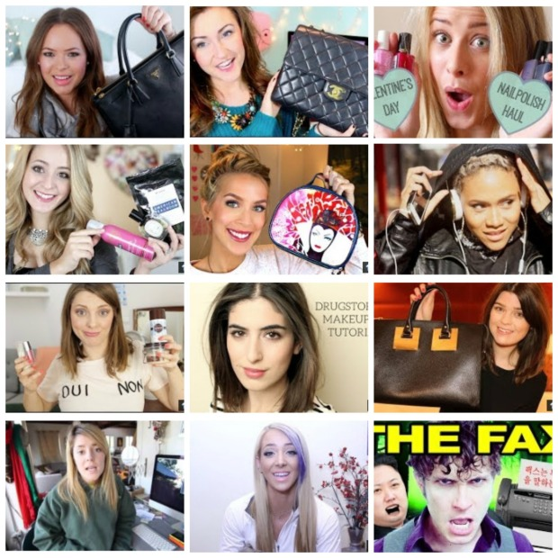 Youtubers Collage