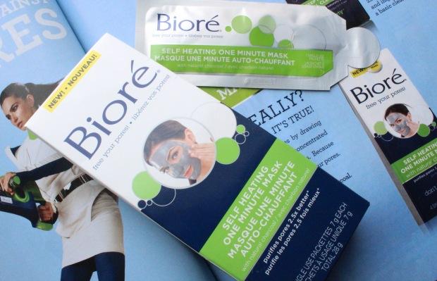 Biore Warming Mask