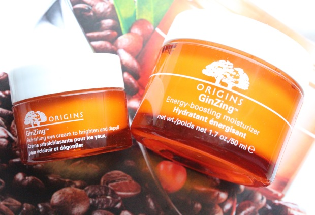 Origins GinZing Eye Cream and Moisturizer