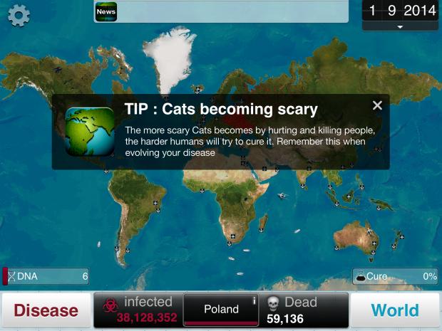 Cats - Plague Inc.