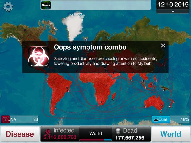 My Butt - Plague Inc.