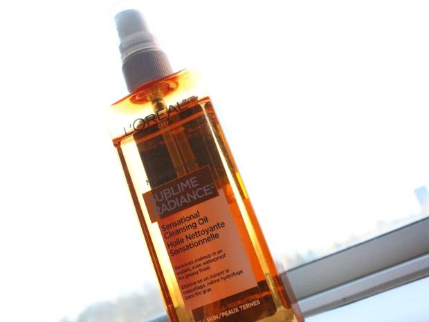 L'Oreal Sublime Radiance Sensational Cleansing Oil