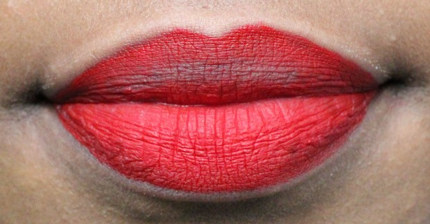 Sephora Cream Lip Stain transfer closeup