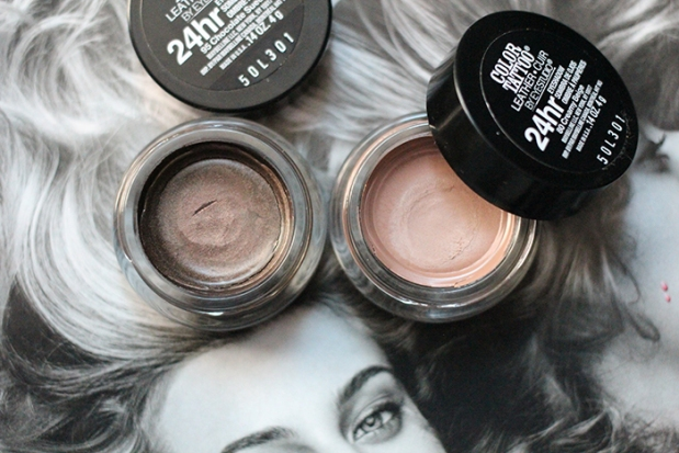 Leathers Maybelline Colour Tattoo open jars