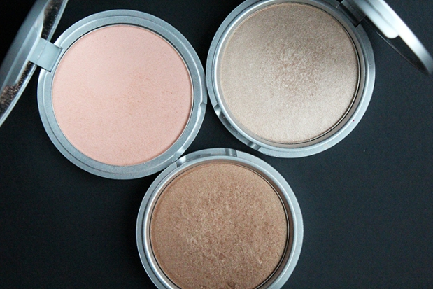 The Balm Highlighters open