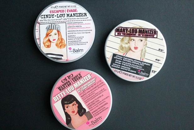 The Balm Highlighters outside packaging